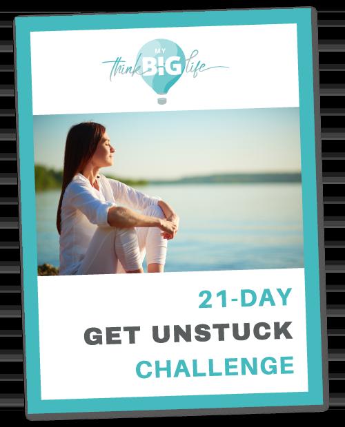 Lost your motivation? Join 21-Day Get Unstuck Challenge!   MyThinkBigLife.com
