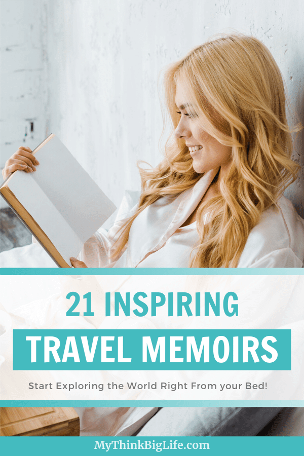 "I LOVE travel, hiking, and ""let's sell everything and move"" memoirs. Inspiring travel memoirs takes you around the world from the comfort of your bed!"