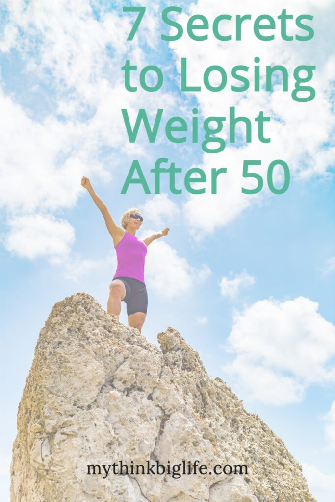 Most of what we've been taught about losing weight is wrong and what worked in our younger years, just doesn't work now. Here are seven secrets to losing weight after 50.