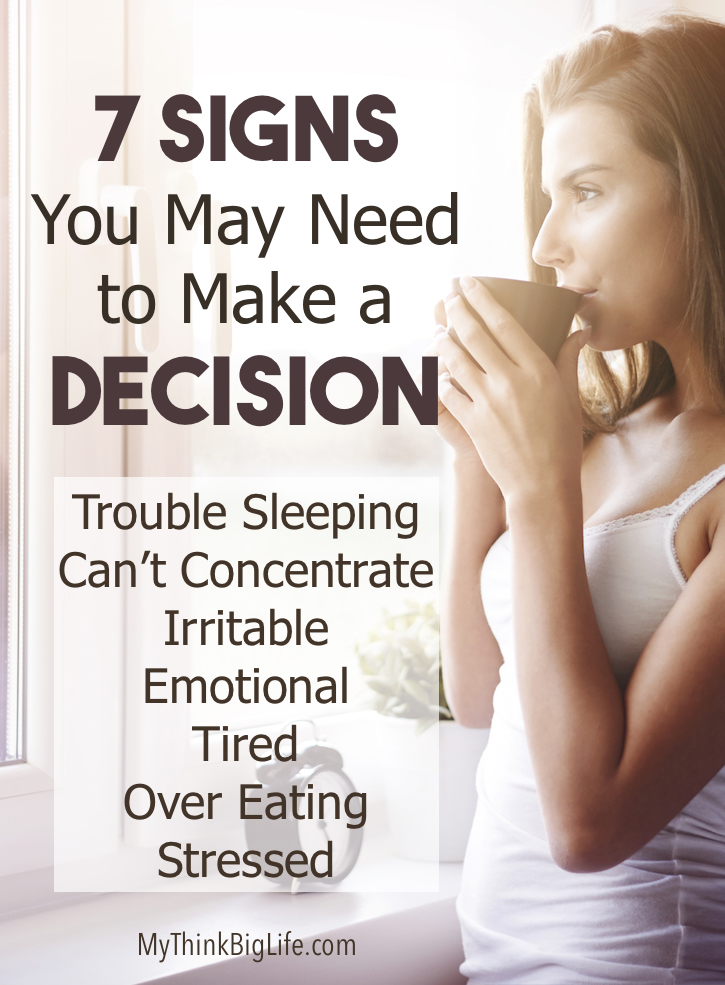 Unmade decisions are mental clutter that can affect your emotions, productivity, and even sleep. Improve your decision making to improve your life. The power of making a decision can positively affect many areas of your life such as health, finances, career, and relationships.