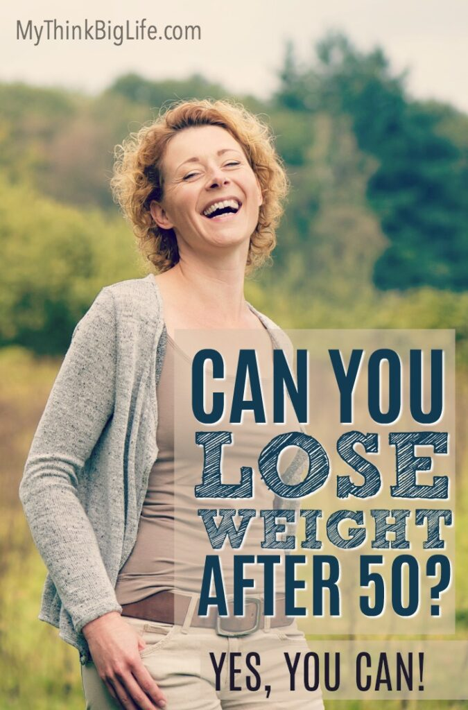 Can you lose weight after 50?The short answer is YES, you can lose weight after 50 and even during menopause. Losing weight at ANY age can be difficult—our bodies fight us on it. But when you work with your body, you can lose weight and still enjoy amazing food!