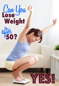 How to lose weight after 50 or any age by reducing cravings and increasing your metabolism