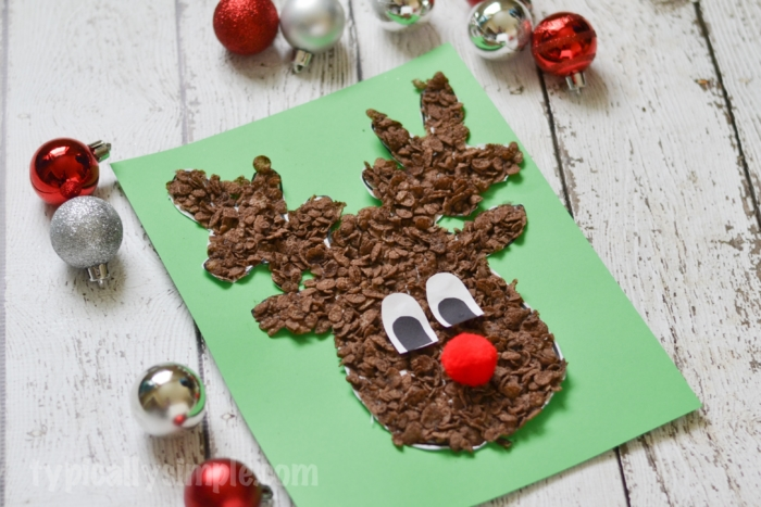 Reindeer craft for Christmas