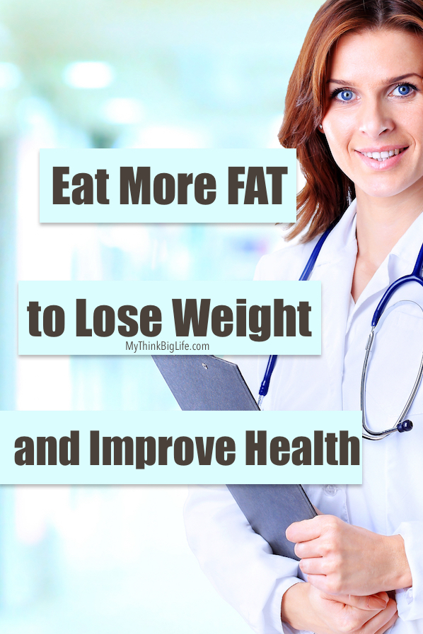 Lose weight by eating more fat -- It sounds crazy, but this really DID work for me! Healthy fats are essential to a healthy body and they help to keep my skin looking great! The benefits of healthy fats are too numerous and vital to ignore.