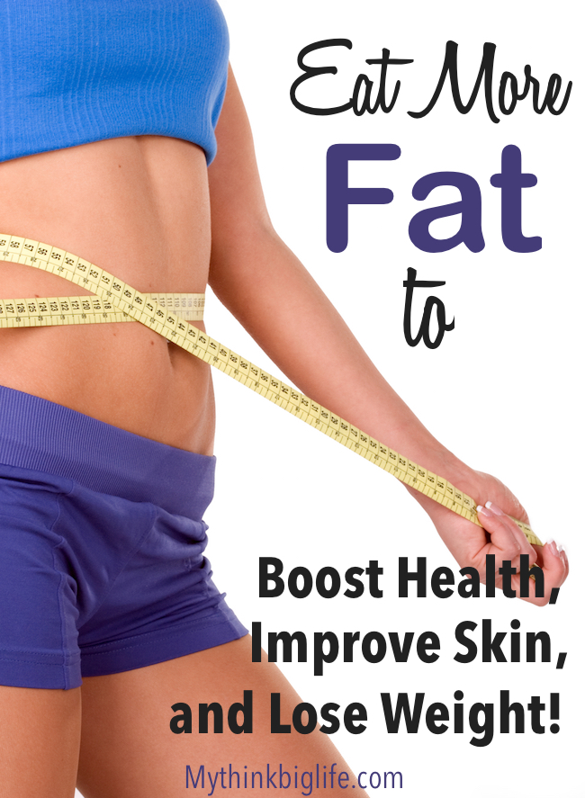 Fat is not something to be avoided and feared. Healthy fats are essential to a healthy body. Eating the right fats with the right food can help you lose weight, boost your health, and improve your skin.