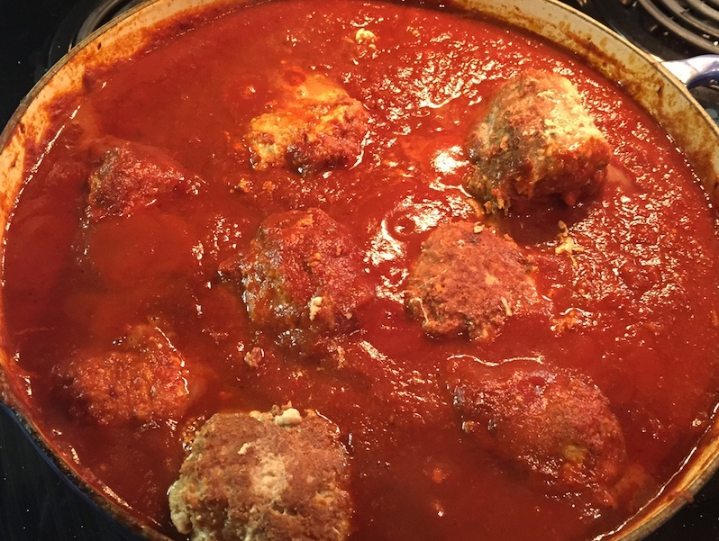 Finished Meatballs