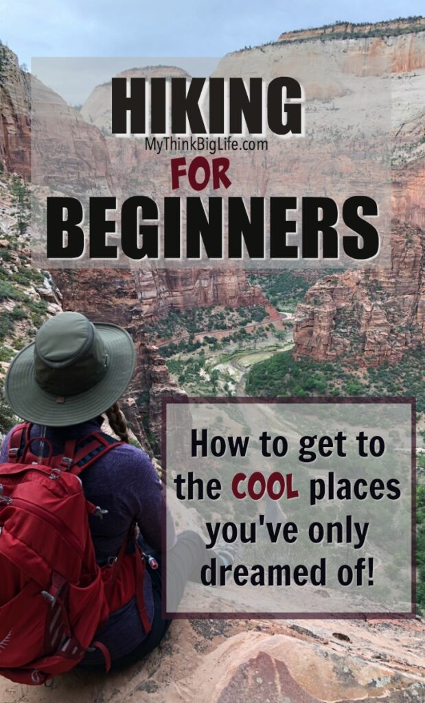 Hiking can seem overwhelming. Where do you go and what do you bring? Here is my hiking for beginners guide with all you need on how to get started.