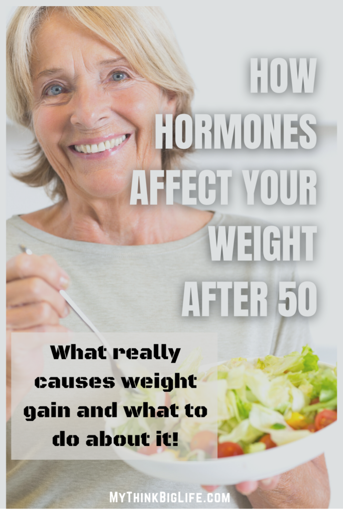 The most important part of losing weight after 50 is understanding your hormones, the hormones that are associated with eating, fat-metabolism, hunger, and feeling full.