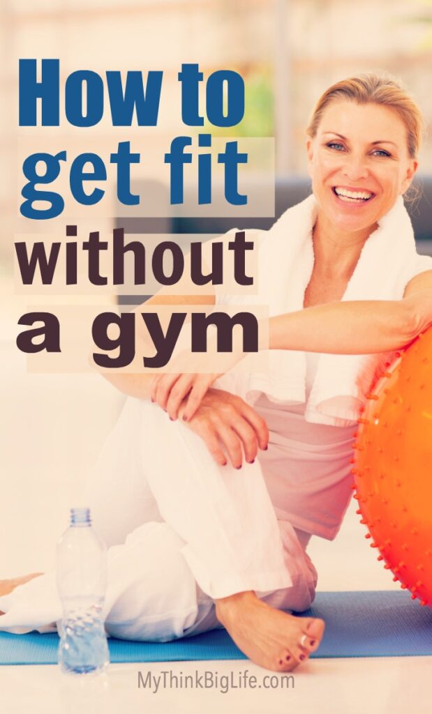 Hate to go to the gym or do hard core workouts? Or maybe you simply don't have the time. You still want to be in great shape though. Me too! Here's how to get fit without a gym.