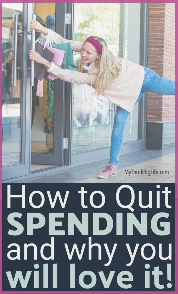 My no-spend month was a profound experience. My credit card loved the spending freeze too! This is how to quit buying stuff and why I loved it