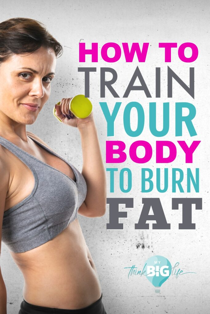 "To lose weight, you have to teach your body to burn fat. It really doesn't ""burn"" it, but by training your body to use your own body fat for fuel, you can lose weight."