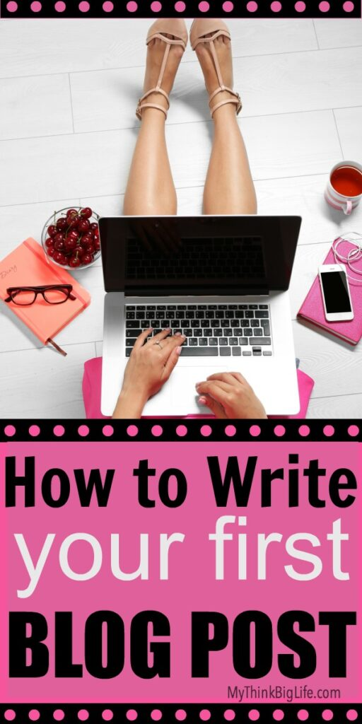 How to Write Your First Blog Post is a blog-writing process that will help you create blog posts that are professional, searchable, and attractive to readers right from the start.