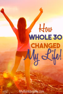 By doing a Whole 30, I learned to eat real real food, give up sweets and artificial sweeteners, and see food as