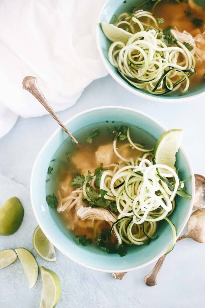 Slow Cooker Paleo Chicken Pho