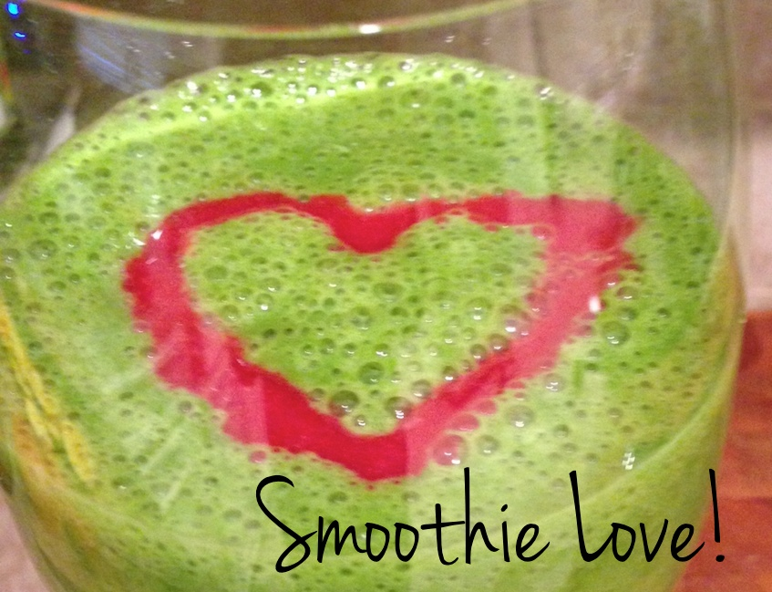 I love my favorite green smoothie