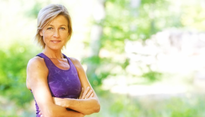 Tips to Lose Weight After 50 Picture of fit mature woman