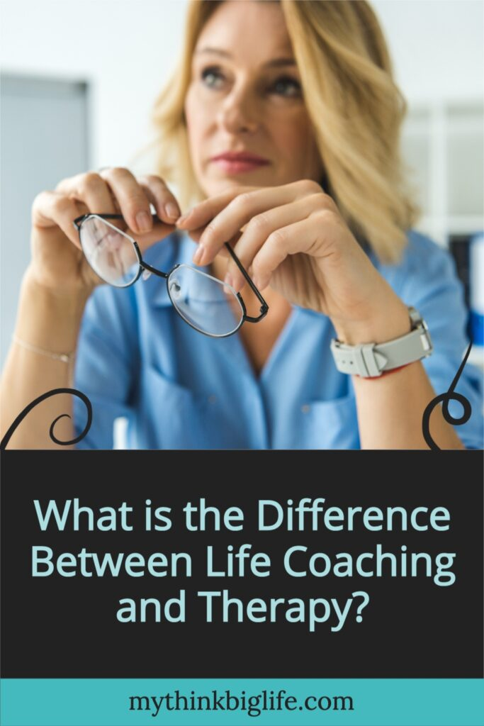 Could you use some help in your life? Here is the difference between life coaching and therapy and how to know which is best for you.