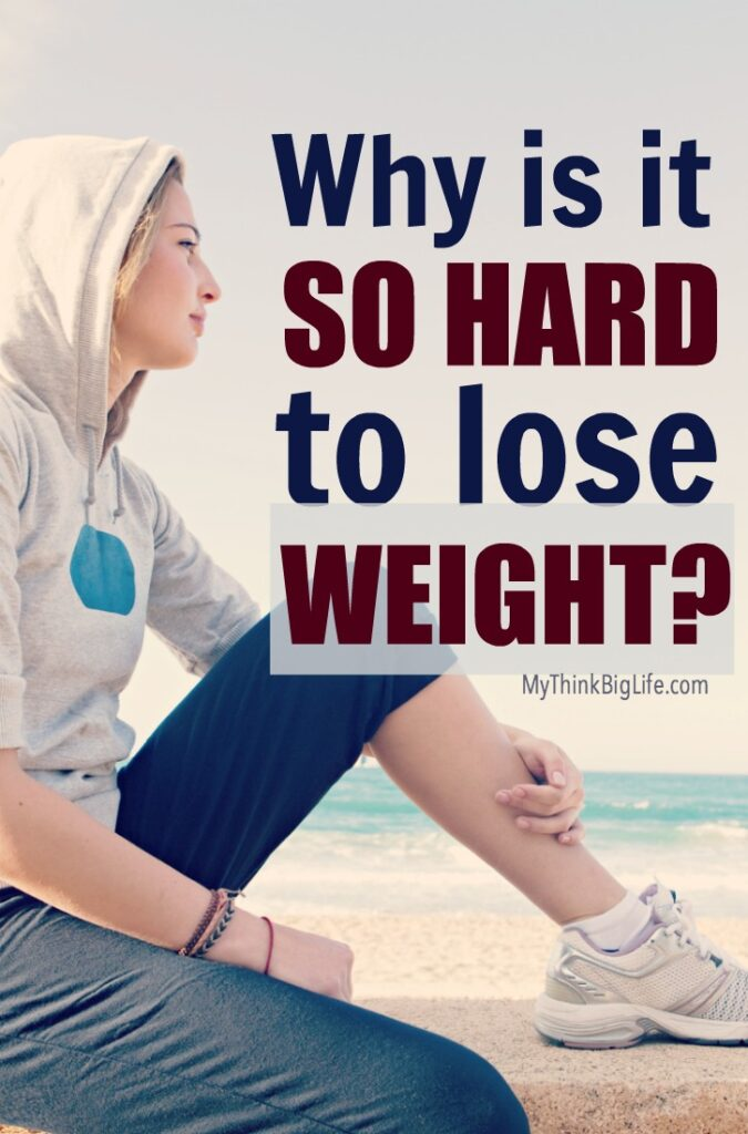 It's not your imagination; it is hard to lose weight. While many people will say it's easy or that you should do this or that, the fact remains that losing weight and keeping it off are difficult. Why is it so hard to lose weight?