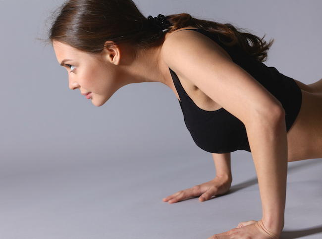 Think learning to do a real push-up is impossible? Think again! Here's how to do a push up and why it's worth doing.