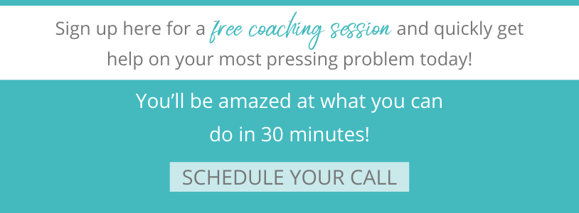Schedule a Free coaching session with Sara