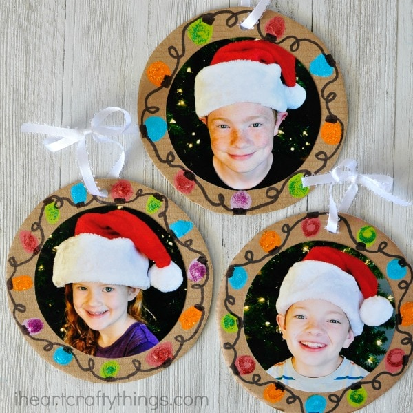Cute Picture frame ornament