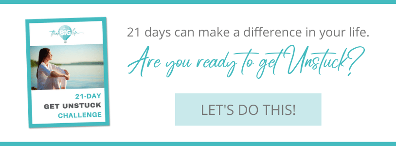 Take the 21 Day Get Unstuck Challenge