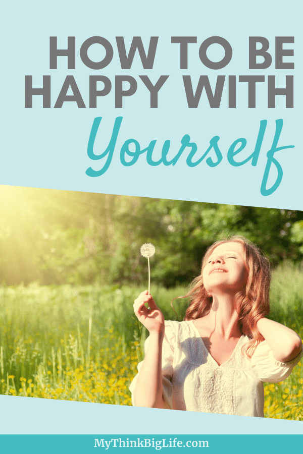 Stop chasing happiness and learn how to be happy with yourself. These 10 emotions, that you can feel on purpose, will lead to feeling happy with yourself!