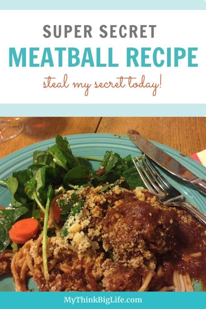 Grab My Super Secret Meatball Recipe!